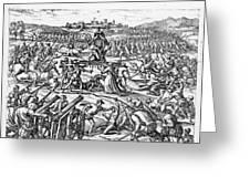 Capture Of Atahualpa, 1532 Greeting Card