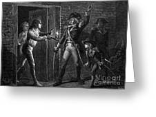 Capture Of Fort Ticonderoga, 1775 Greeting Card