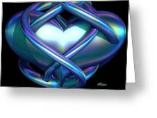 Captured Heart Greeting Card