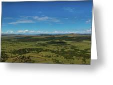 Capulin Panorama Greeting Card
