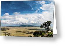 Capulin Volcano View New Mexico Greeting Card