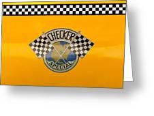 Car - City - Nyc Taxi Greeting Card