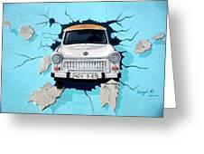 Car Graffiti Greeting Card