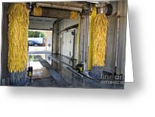 Car Wash Interior Greeting Card
