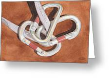 Carabiners Greeting Card