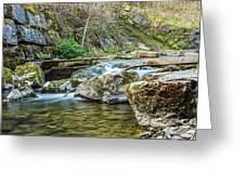 Caradocs Falls 1 Greeting Card