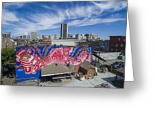 Caratoes Richmond Mural Project Greeting Card