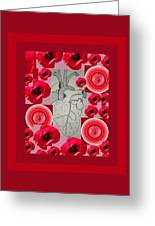 Carazon2 By Beth Valory And Julia Woodman Greeting Card