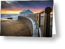 Carcavelosbeach - Portugal Greeting Card