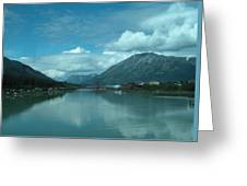Carcross - So Much Blue Greeting Card