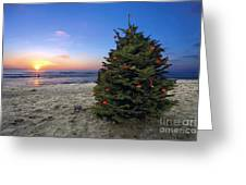 Cardiff Christmas Tree Greeting Card