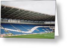 Cardiff - City Stadium - North Stand 1 - July 2010 Greeting Card