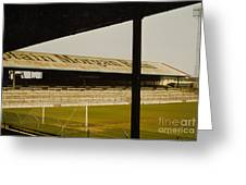 Cardiff - Ninian Park - East Stand Railway Side 1 - 1970s Greeting Card