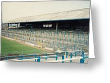 Cardiff - Ninian Park - East Stand Railway Side 2 - August 1991 Greeting Card