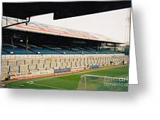 Cardiff - Ninian Park - East Stand Railway Side 5 - March 2004 Greeting Card