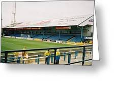Cardiff - Ninian Park - North Stand 3 - October 2004 Greeting Card