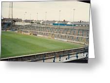 Cardiff - Ninian Park - South Stand Grange End 1 - August 1991 Greeting Card