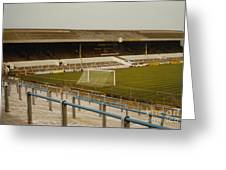Cardiff - Ninian Park - West Stand 2 - 1969 Greeting Card