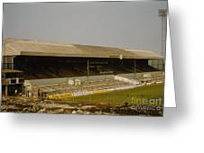 Cardiff - Ninian Park - West Stand 3 - 1969 Greeting Card