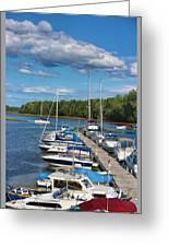 Cardigan Wharf Greeting Card