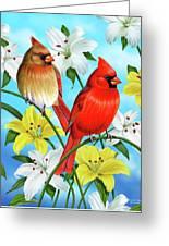 Cardinal Day Greeting Card