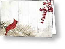 Cardinal Holiday IIi Greeting Card