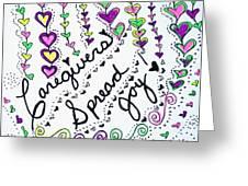 Caregivers Spread Joy Greeting Card