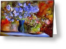Caress Of Spring - Impressionism Greeting Card