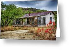 Cargill Residence At Ruby Arizona Greeting Card