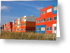 Cargo Homes Greeting Card