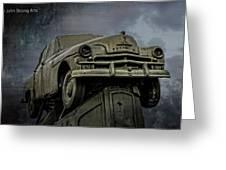 Carhenge - Plymouth Rock Greeting Card