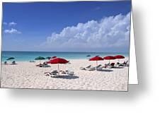 Caribbean Blue Greeting Card