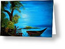Caribbean Bueaty Greeting Card
