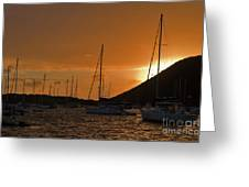 Caribbean Dawn Greeting Card