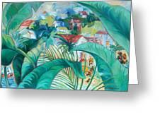 Caribbean Fantasy Greeting Card
