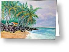 Caribbean Retreat Greeting Card