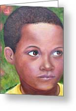 Caribe Child Greeting Card