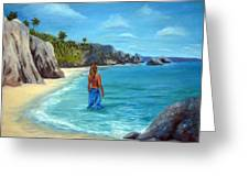 Caribean Dreaming Greeting Card