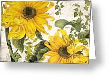 Carina Sunflowers Greeting Card