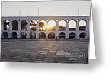 Carioca Aqueduct, Rio De Janeiro Greeting Card