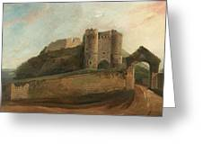 Carisbrooke Castle Greeting Card