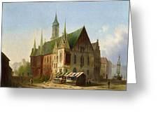 Carl Josef Greeting Card