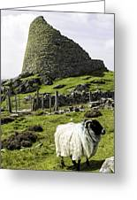 Carloway Broch Greeting Card