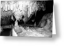 Carlsbad Cavern Walkway Greeting Card
