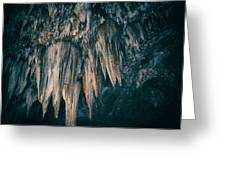 Carlsbad Caverns National Park Chandelier Greeting Card