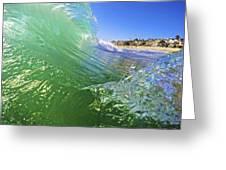 Carlsbad Wave 3 Greeting Card