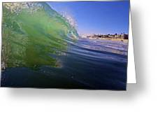 Carlsbad Wave 4 Greeting Card