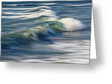 Ocean Wave Abstract Greeting Card