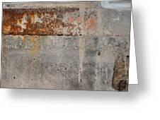 Carlton 16 Concrete Mortar And Rust Greeting Card