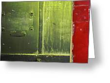 Carlton 6 - Firedoor Abstract Greeting Card